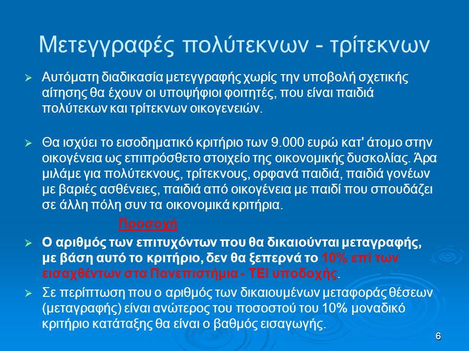 27 Σχολές με προβληματικά επαγγελματικά δικαιώματα   - Προσχολικής Αγωγής ΤΕΙ Αθήνας.