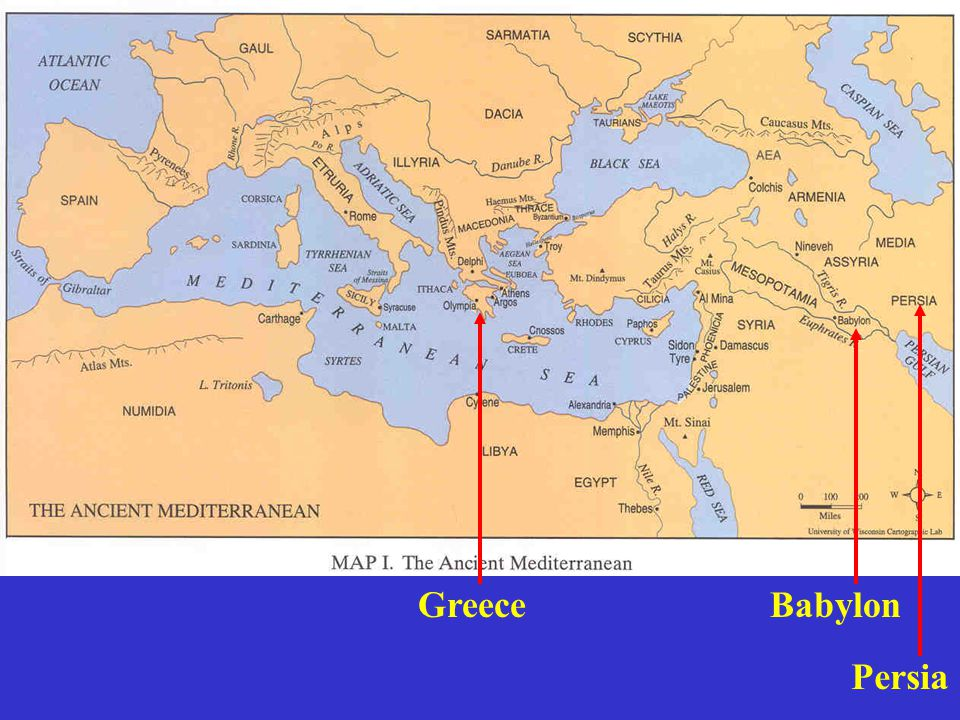 Babylon Persia Greece