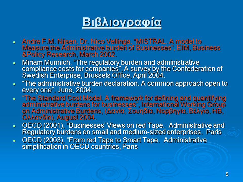 16 5.Εισαγωγές – Εξαγωγές Δραστηριότητες προς: Ε.Β.Ε.Α.