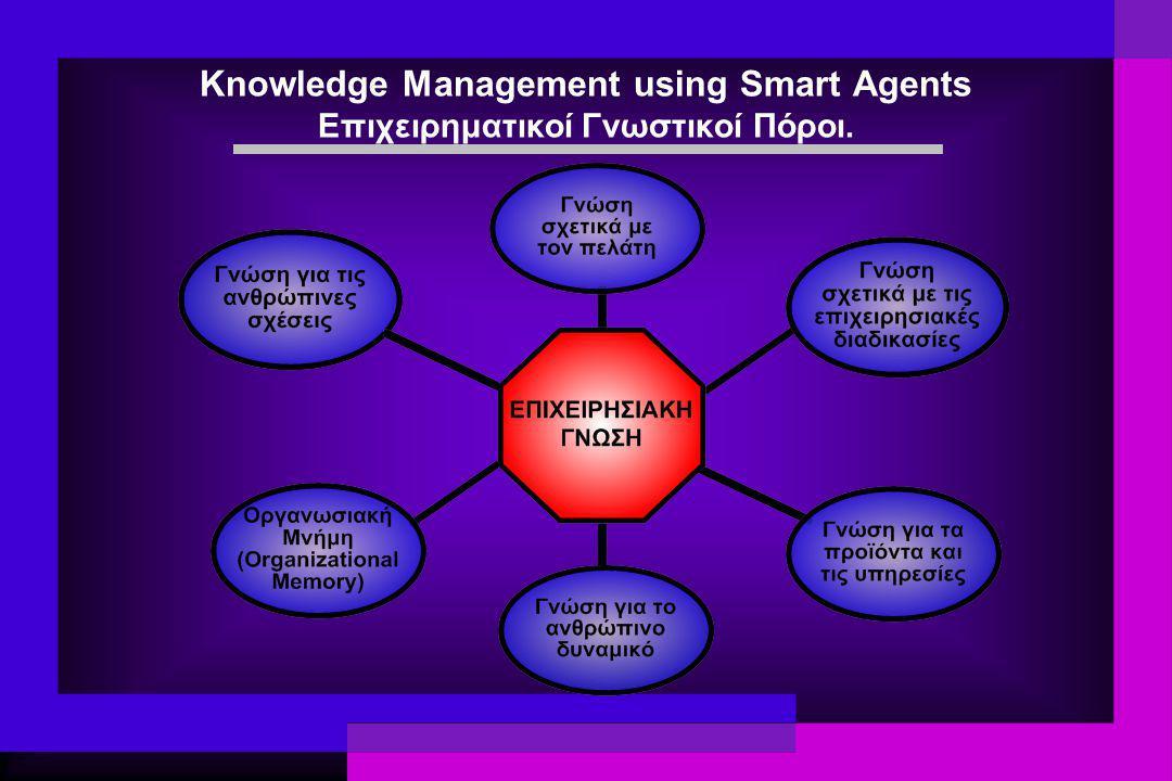 Knowledge Management using Smart Agents Επιχειρηματικοί Γνωστικοί Πόροι.