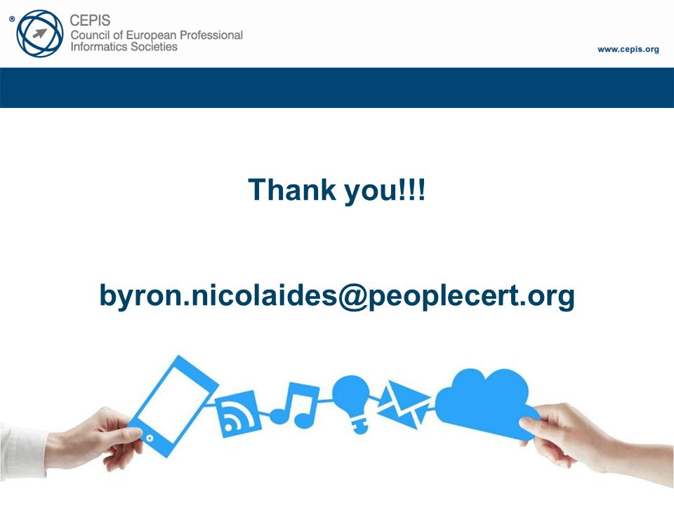 Thank you!!! byron.nicolaides@peoplecert.org
