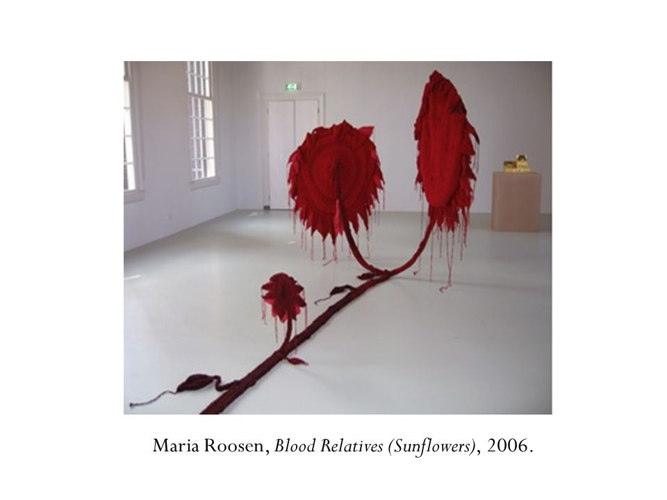 Maria Roosen, Blood Relatives (Sunflowers), 2006.