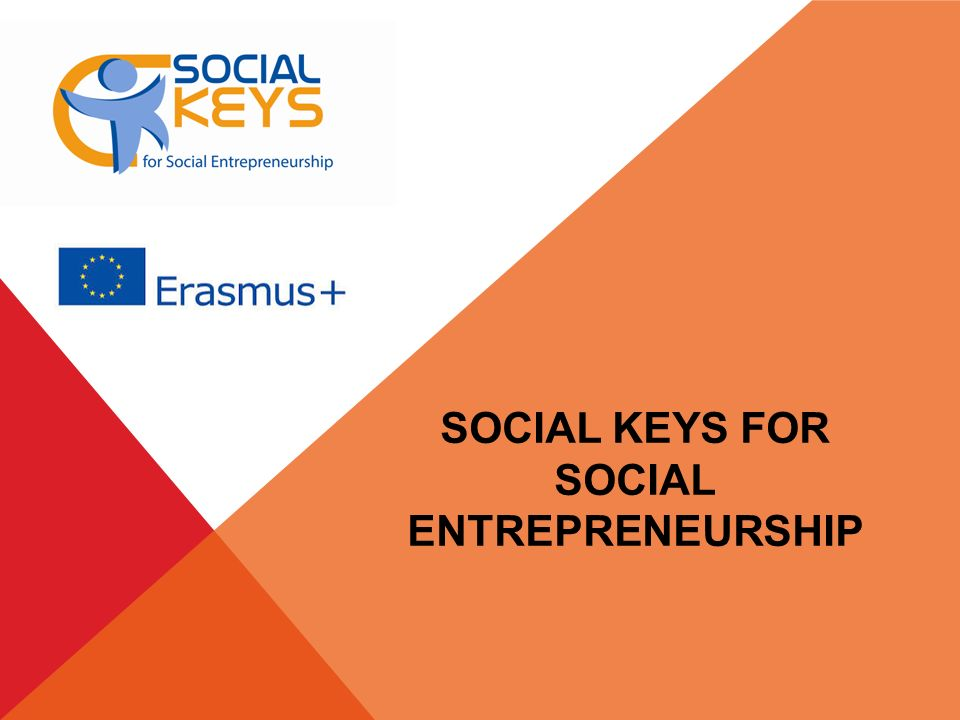 SOCIAL KEYS FOR SOCIAL ENTREPRENEURSHIP