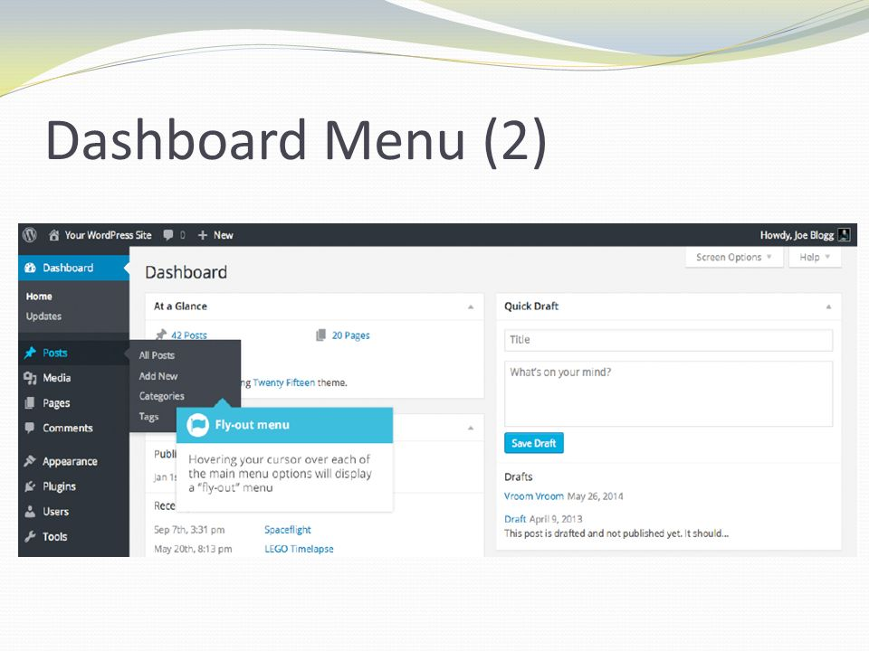 Dashboard Menu (2)