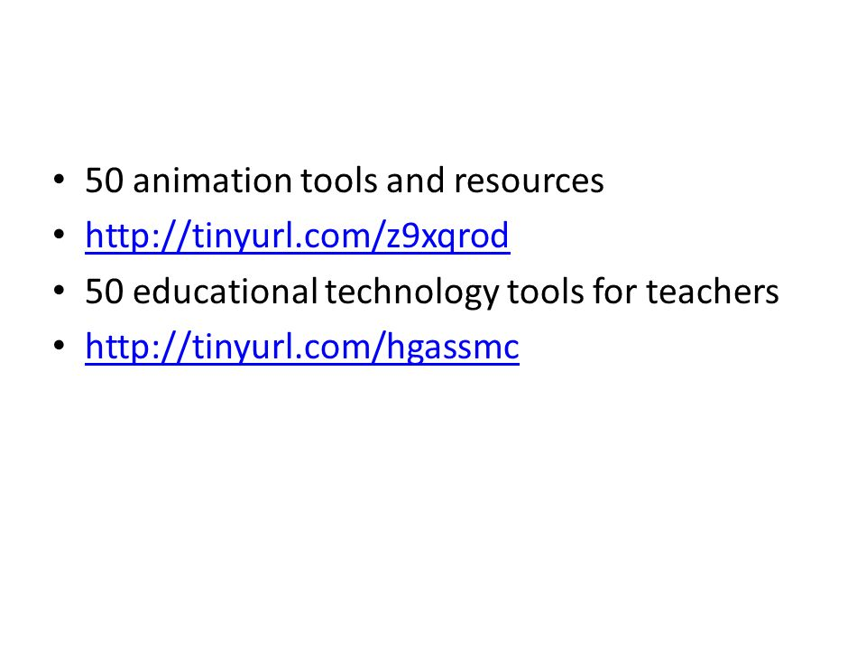 50 animation tools and resources   50 educational technology tools for teachers