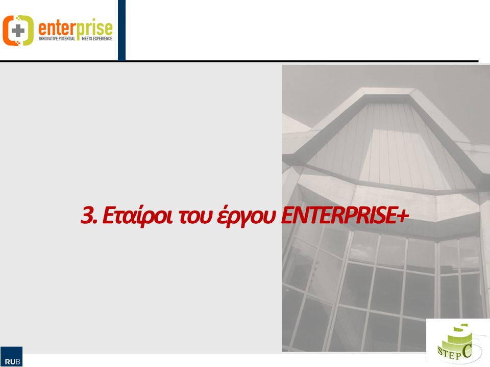 Human Ressource Management & Qualification Εταίροι του έργου ENTERPRISE+