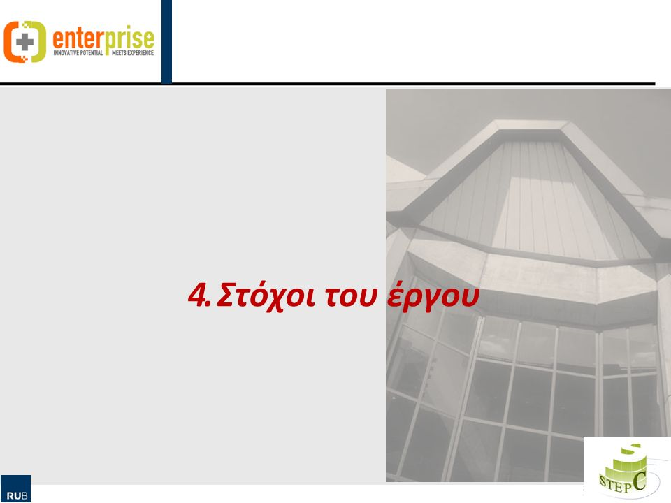 Human Ressource Management & Qualification Στόχοι του έργου