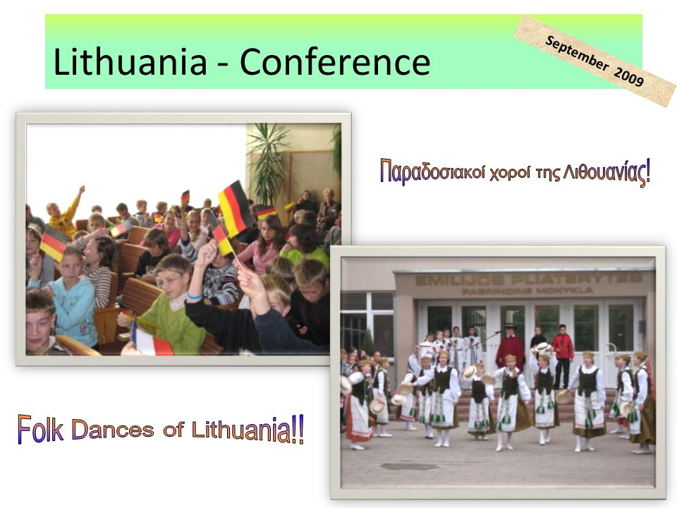 Lithuania - Conference September 2009