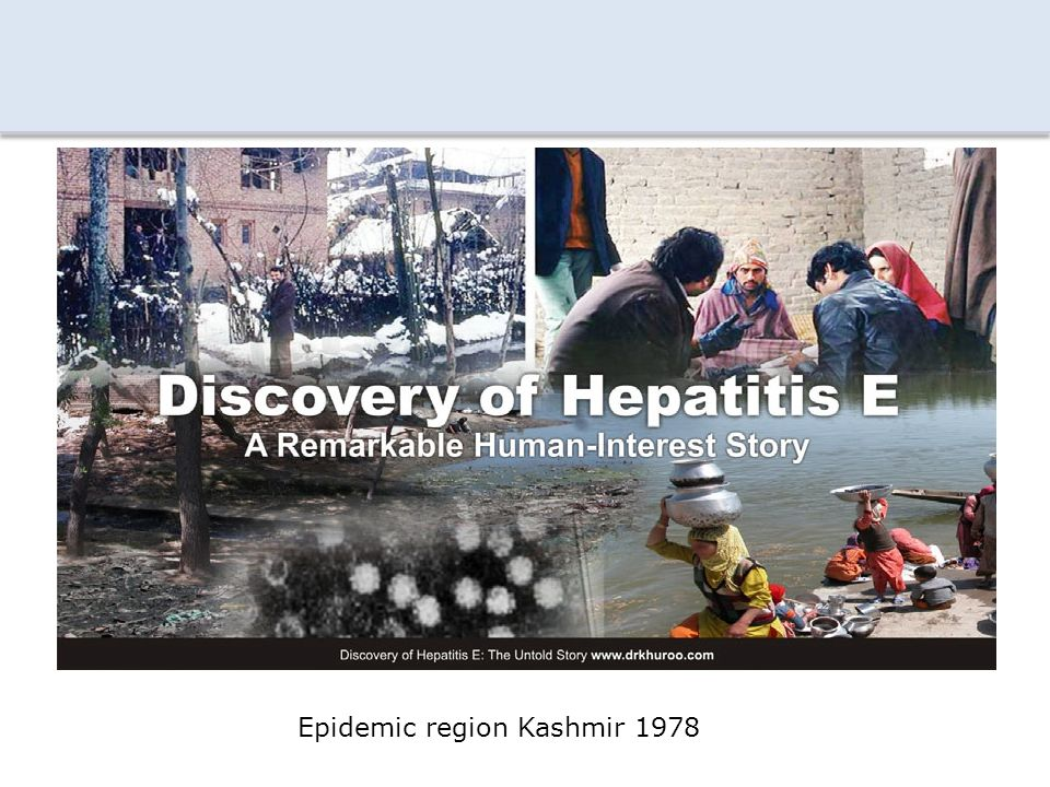 Epidemic region Kashmir 1978