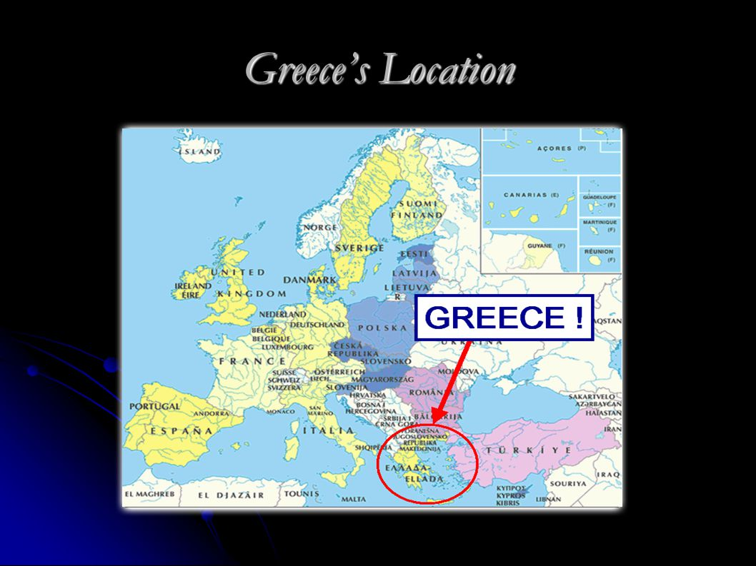 Greece's Location