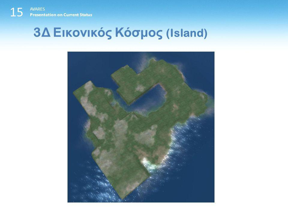 15 3 Δ Εικονικός Κόσμος (Island) AVARES Presentation on Current Status